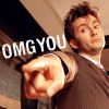 "objectivelypink: the Doctor w/ text ""OMG you"" (OMG you)"