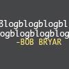 teigh_corvus: Text icon: Blogblogblogblogblogblogblog - Bob Bryar ([Bandom] [MCR] Bob bloggin')