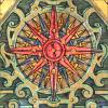 quillori: compass rose illustration (stock: compass rose)
