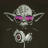stepps: Yoda in sunglasses with headphones ([misc] Yoda is gangster)
