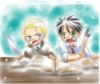 halimede: Chibi Harry and Draco (harry)