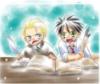 halimede: Chibi Harry and Draco (harry, draco, chibi)