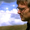 dira: Daniel Jackson in profile against a blue sky. (Daniel - Wordless)