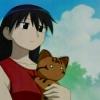 paper_hand: Sakaki from Azumanga Daioh holding Maaya (Default)