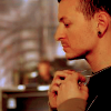 bloodyreject: (chester is thoughtful)