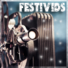 aris_tgd: Festivids! Antique film projector in snow. (festivids projector)