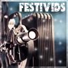 aris_tgd: Festivids! Antique film projector in snow. (festivids projector)
