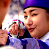 shati: yoon hee demonstrates her archery skills/adorableness ([skks] yoon hee how are you so adorable)