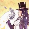misbegotten: Zatanna playing with cards (DC Zatanna Cards)