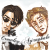 merry_gentry: From 'Good Omens' (Crowley/Aziraphale)