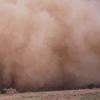 avaragarda: Harsh sandstorm swallowing up a house in Hafar Al-Batin (it slips away)
