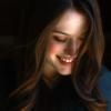ashpags: Kat Dennings looking down and smiling. (kat-dennings)