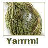 seryn: skein of green yarn (yarn)