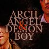anaraine: Sam and Gabriel: Archangel & Demon Boy ([spn] archangel & demon boy)