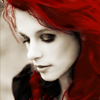 rainsinamorata: (People - looking down red hair)