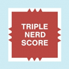 kouredios: Triple Nerd Score on a Scrabble board (Triple Nerd Score)