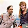 grlnamedlucifer: Doctor Who's Brigadier, looking at a smiling Liz Shaw ([who] brigadier & miss shaw)