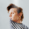 dear_prudence: matt smith wearing a stripy shirt (dr who: matt smith is stripy)