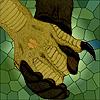 raze: harpy and wereanimal hand holding (razeromance)