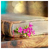 ru: (book and flower)