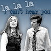 """trouble: Amy from Doctor Who walking away from the Doctor - """"La la la, I can't hear you"""" (amy & the doctor)"""