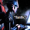 """tfficmeme: Arcee from TFP, typing, with the caption """"fanfic"""" (Arcee, fanfic)"""