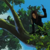 sinesofinsanity: For hiding in trees (X23 in tree)