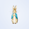 unavee: Peter Rabbit on light blue background (Default)