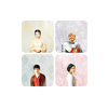 unavee: ot4, 2x2 block of squares, each with a character (Morgana, Arthur, Gwen, Merlin) (merlin)