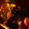 leagueoflegends: Official Skin Gentleman Cho'Gath from League of Legends (Gentleman Cho'Gath)