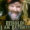 gigglingkat: Behold!  I am batshit! (mood: Batshit Crazy.)