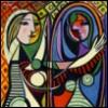 bethbethbeth: (Art  Picasso Girl Mirror (bbb))