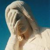 halialkers: Jesus statue with hand on face, palm covering face (Jesus Facepalm-double the fail)