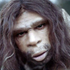 halialkers: Neanderthal man, long-haired brow-ridged man with brown hair and beard, no mustache (Xorenin)
