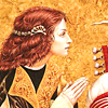 quillori: figure with her hands together in gratitude or prayer (mood: thank you, mood: please)