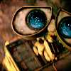 phnelt: wall-e with stars in his eyes (wall-e stars)