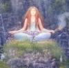 tranquilityseekers: meditation girl (meditation)