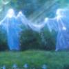 tranquilityseekers: blue dancers (friendship)