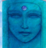 tranquilityseekers: blue face (spiritual)