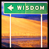 chazzbanner: (wisdom sign)
