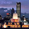 lore: (Chicago - Buckingham Fountain by sunset)