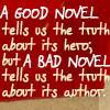 sherlockian: (good novel/bad novel)