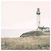 laeria: Rural-looking twee lighthouse with a white sky. (lighthouse of laziness)