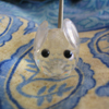 fred_mouse: crystal mouse, looking straight out at the viewer (crystal)