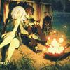 presumablyalone: (Seto   By the campfire)