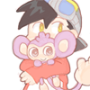 goldhearted: (80; monkey snuggles.)