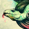 lightningfields: (Green Snake Art)
