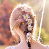 fancyfool: by <user name=rosy_nic site=livejournal.com> (Flowers in the hair)