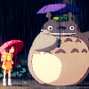 chazzbanner: (totoro umbrellas)