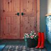 chazzbanner: (door flower boots)